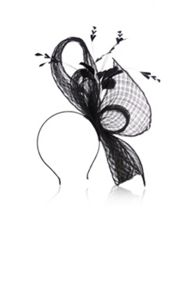 Marla basket weave fascinator