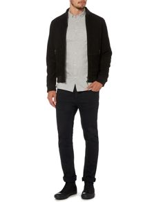 Label Lab Tatum Suede Bomber Jacket