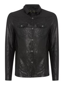 Label Lab Banbury Leather Shirt