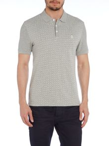 Original Penguin Regular Fit Jacquared Front Polo Shirt