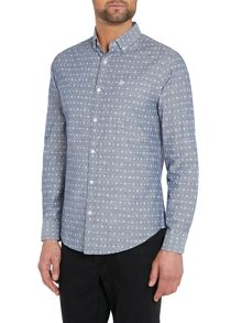 Original Penguin Plain Classic Fit Long Sleeve Shirt