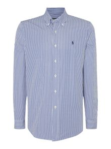Long Sleeve Button Down Collar Shirt
