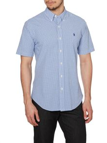 Polo Ralph Lauren Gingham Short Sleeve Sport Shirt