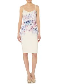 Ombre Printed Cami Dress