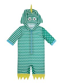 Baby dinosaur sunsafe swimsuit