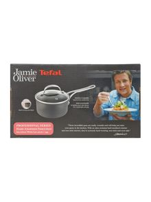 Jamie Oliver by Tefal Professional Series 20cm Saucepan with Glass Lid
