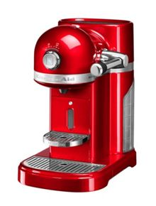 KitchenAid Nespresso machine Empire Red