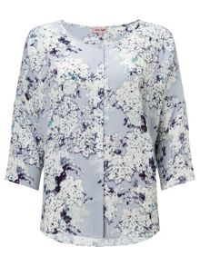 Laurie print blouse
