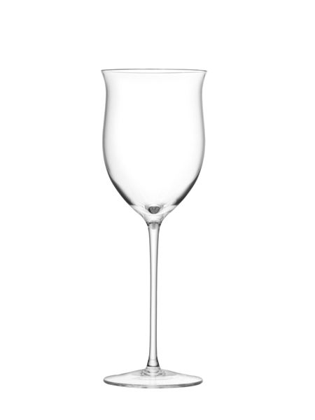 LSA Wine Rose Wine Glass 400ml Clear x4