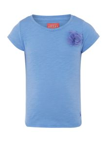 Girls corsage t-shirt