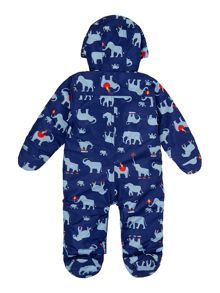 Newborn Boys Snowsuit