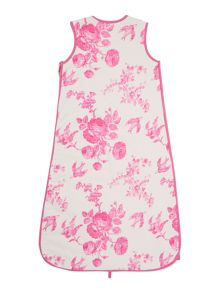 Newborn Girls Printed Sleeping Bag