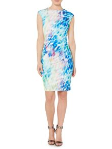 Brooke printed dress