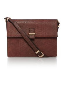 Sofia metal bar crossbody bag