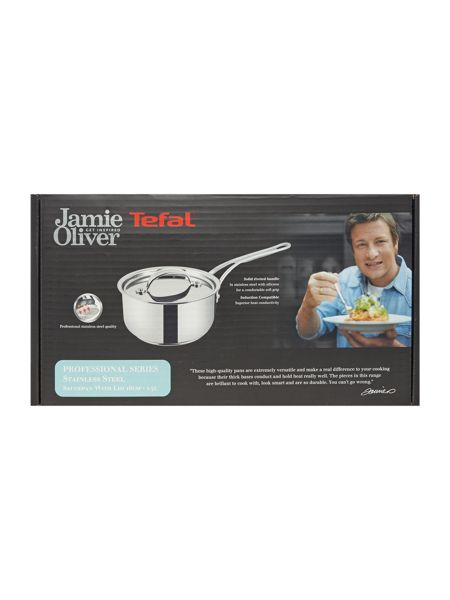 Jamie Oliver by Tefal Professional Series 16cm Saucepan with Lid
