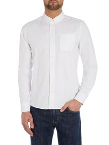 Plain Classic Fit Long Sleeve Shirt