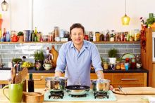 Jamie Oliver by Tefal Professional Series 24cm Stewpot with Lid