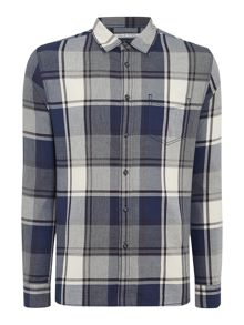Moss Large Check Long Sleeve Shirt