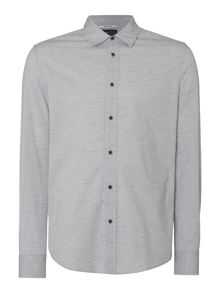 Merston Geo Print Long Sleeve Shirt