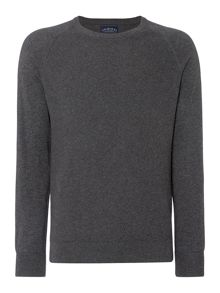 Criminal Keymoor Raglan Crew Neck Jumper