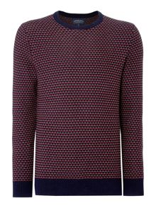 Criminal Grange Tuck Stich Crew Neck Jumper