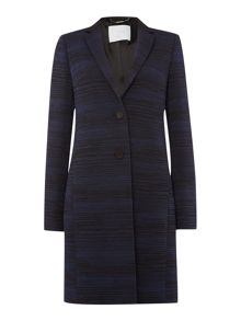 Cotina Ribbed Overcoat