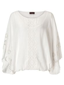 Sadie embroidered blouse