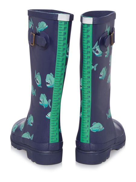 Joules Boys Piranha Wellies