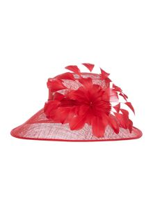 Kathy Feather Hat