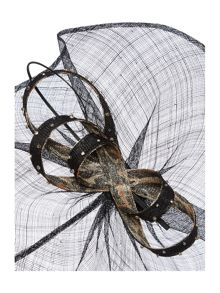 Kirsty Wave Bow Fascinator