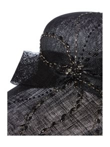 Biba Kadie Limited Edition Black Beaded Hat
