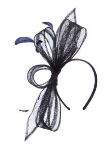 Katie Loop Feather Fascinator