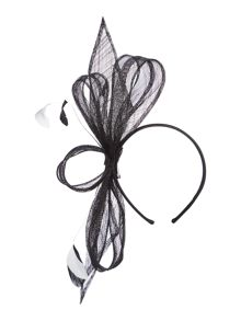 Untold Katie Loop Feather Fascinator