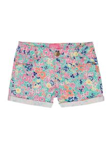 Girls Ditsy print shorts