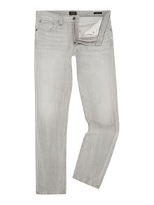 Slim Fit Coloured Wash Mid Rise Detroit Jeans