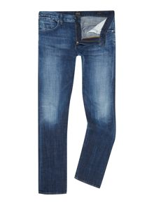 A Gold E Slim Fit Light Wash Mid Rise Provence Jeans