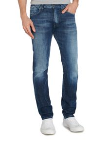 Slim Fit Light Wash Mid Rise Provence Jeans