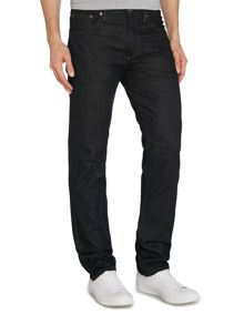 Slim Fit Dark Wash Mid Rise Urban Jeans