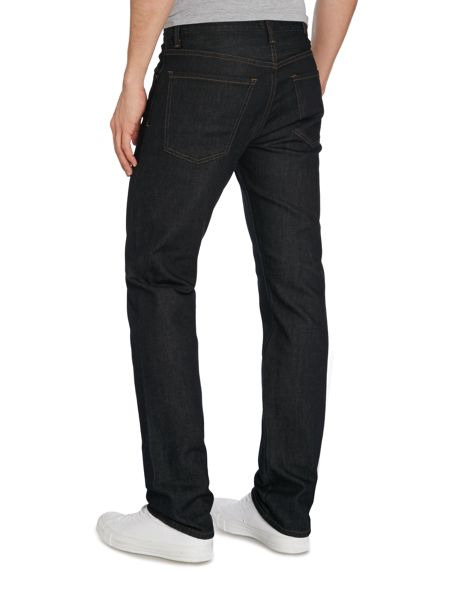 A Gold E Slim Fit Dark Wash Mid Rise Urban Jeans