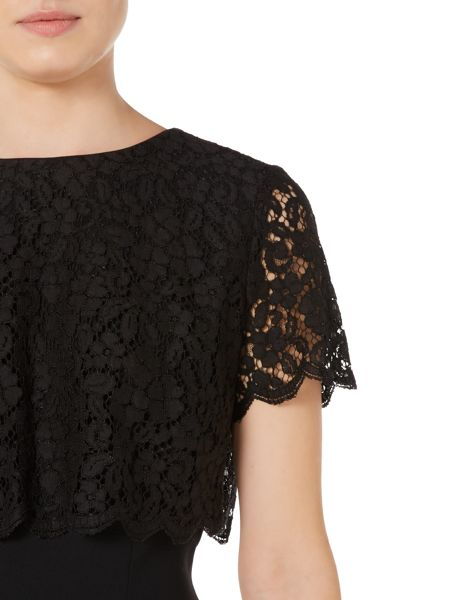 Pied a Terre Lace overlay dress