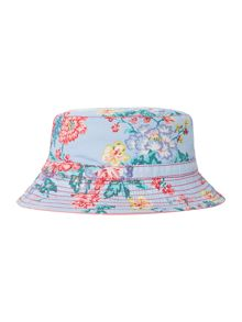 Girls Floral Reversible Sunhat