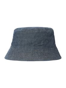 Joules Babys Reversible Chambray Sunhat