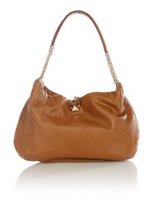 Tan medium hobo