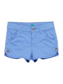Benetton Girls frill pocket shorts