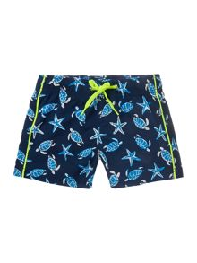 Boys star short swimsuit