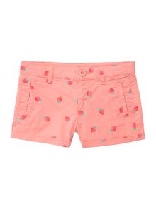 Girls strawberry shorts