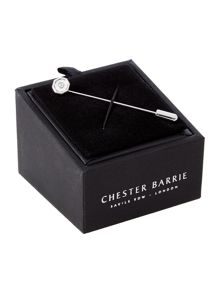 Chester Barrie Octagonal Crystal Stick Pin