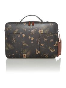 Printedleather Laptop Bag