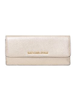 Jetset gold flap over purse