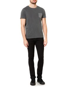 Label Lab Ladbroke Contrast Pocket T-Shirt